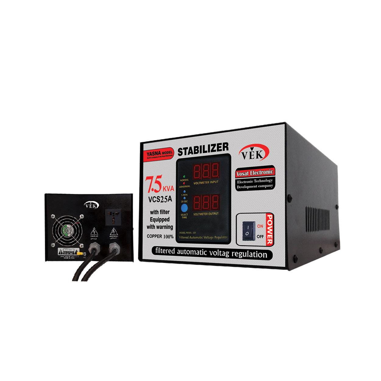 استابلایزر (ترانس اتوماتیک) 7.5KVA