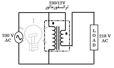 مدار استابلایزر ولتاژ